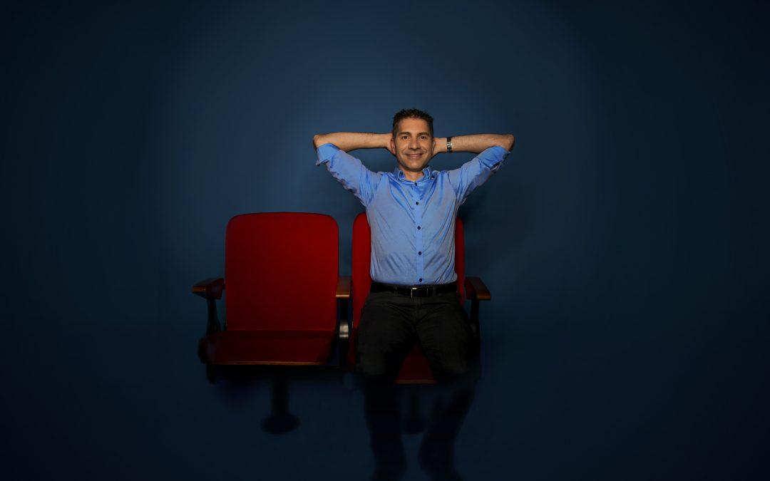 Portrait d'Alexandre Massé, ingénieur en R&D